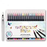 Best Art Markers - Bianyo Watercolour Painting Brush Marker Pens Set Review