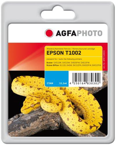 Preisvergleich Produktbild AgfaPhoto APET100CD Tinte für Epson B40W, 915 Seiten, 11.1 ml, cyan