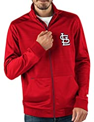 "St. Louis Cardinals MLB G-III ""Progression"" Men's Full Zip Track Jacket Veste"