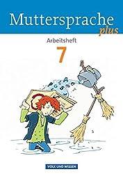 Muttersprache plus - Allgemeine Ausgabe für Berlin, Brandenburg, Mecklenburg-Vorpommern, Sachsen-Anhalt, Thüringen: 7. Schuljahr - Arbeitsheft