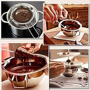 Mirror Ti Piace Acciaio Inox Burro di Cioccolato Melting Pot Cucina della vaschetta Ciotola del Latte Caldaia Accessori da Cucina Regard