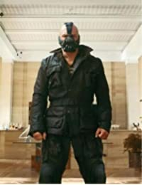 The Dark Knight Rises - BANE GENIUNE Cow hide Black Real Leather Jacket