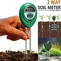 TAOtTAO - Kit de medidor de pH 3 en 1 para Plantas de jardín, 2 Unidades