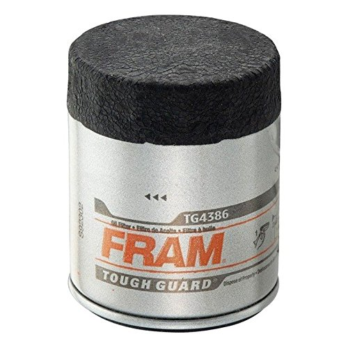 FRAM HM4386 High Mileage Full-Flow Spin-On Oil Filter (ölfilter High Mileage)