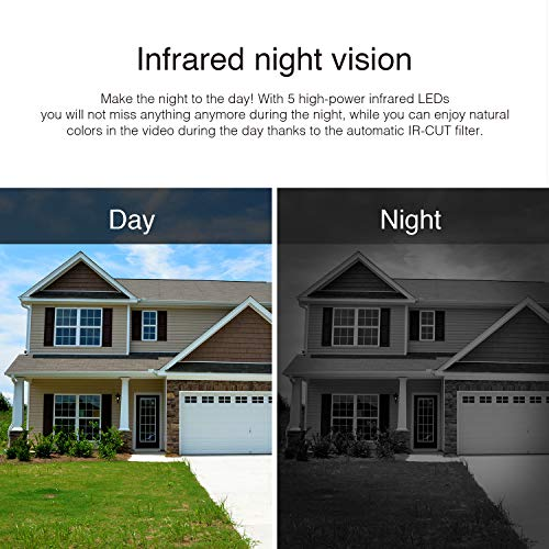 INSTAR IN-5907HD Wlan IP Kamera  – HD Sicherheitskamera für Außen - 5