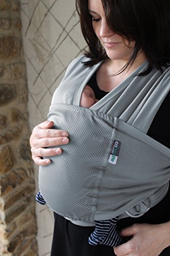Caboo Lite- Multi Position Baby Carrier (Stormy Sea)
