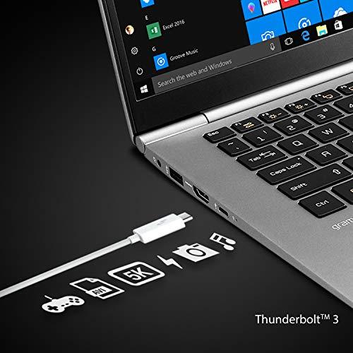 LG Gram 17Z990 2019 17.0-inch Laptop (Core i7-8565U/8GB/512GB SSD/Windows 10 64-bit/Intel UHD 620 Graphics), Dark Silver Image 8