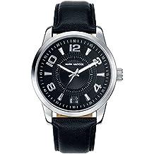 Mark Maddox pour homme montre à quartz avec affichage analogique et bracelet PU Noir Cadran noir Hc3003-55(Reconditionné Certifié)