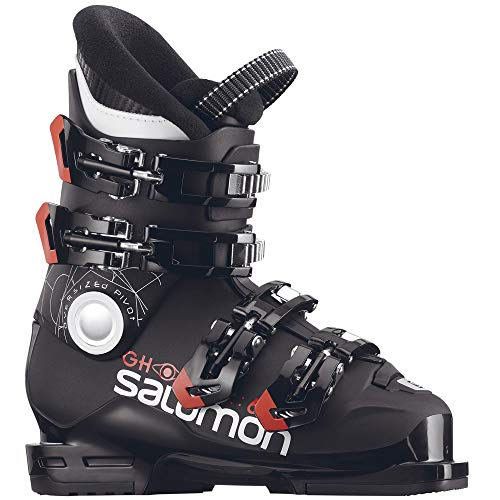 Salomon Kinder Skischuhe Ghost 60T L schwarz/orange (704) 23