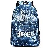 Yoyoshome anime Attack on Titan Cosplay luminoso College Bookbag borsa zaino da scuola Luminous 4