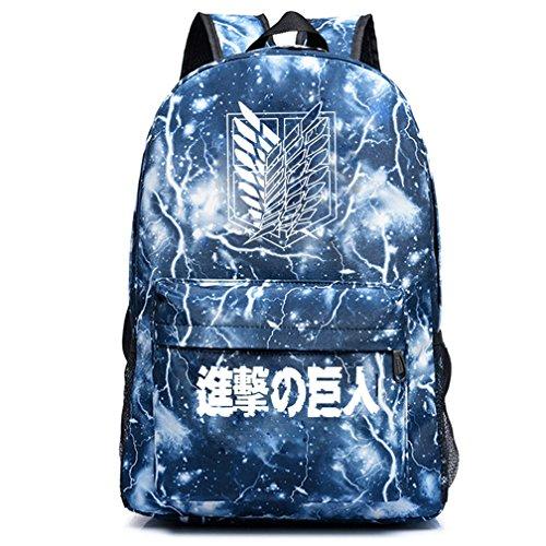 yoyoshome Anime Angriff auf Titan Cosplay Luminous Schultasche College Rucksack Schultasche Luminous 4