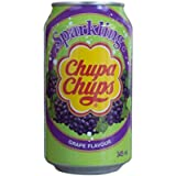 Chupa Chups Sparkling Grape Flavour Soda (24 x 0,345 l), penna a sfera FiveStar inclusa