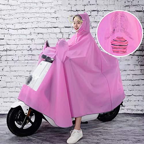 AA-SS Impermeabile da Motociclista Impermeabile Grande Mantello da Pioggia-JXSD Mobilità Scooter Motociclo Impermeabile Poncho Pioggia Mac Abbigliamento da Pioggia per Motociclismo 3XL / 9XL