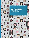Accounts Journal: Bookkeeping Journal, Bookkeeping Record Book For Small Business, Manual Journal Entries, Cute Cosmetic Makeup Cover: Volume 39