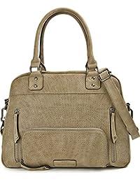 MIYA BLOOM, Damen Handtaschen, Schultertaschen, Umhängetaschen, Shopper, Henkeltaschen, 38 x 25 x 12 cm (B x H x T)
