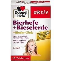 Doppelherz Bierhefe + Kieselerde, 30 Stück