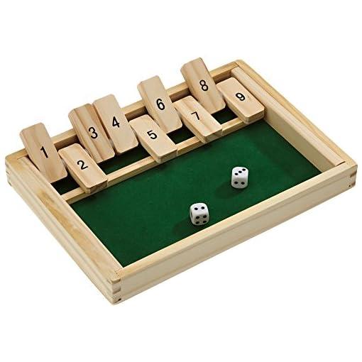 Beluga-Spielwaren-10021-Klappbrett-aus-Holz-aufregendes-und-kniffliges-Wrfelspiel Beluga Spielwaren 10021 – Klappbrett aus Holz, aufregendes und kniffliges Würfelspiel -