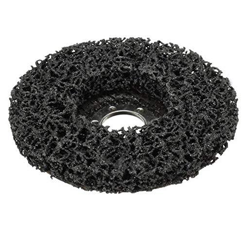 Be82aene 2pcs 115mm Rost-Farben-Remover Abrasive Poly Disc Wheel for 4,5-Zoll-Winkelschleifer Effekt ist feiner