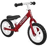Cruzee RED - B/W - UltraLeicht Laufrad (1,9 kg) fur kinder ab 1.5 bis 5 Jahre
