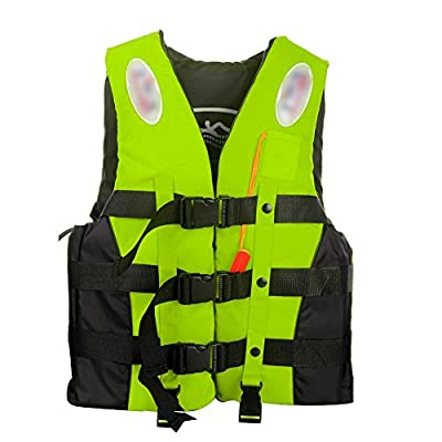 ANAM Leader Internation Life Vest with Whistle, Buoyancy Aid for Adult, Buoyancy Vest, Kayaking Foam Life Jacket Watersport by ANAM