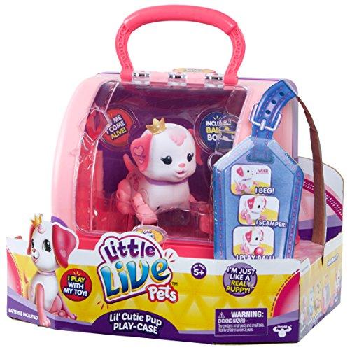 Little Live Pets 28493Lil 'Precious Welpen Tragetasche (Royal Pet-schale)