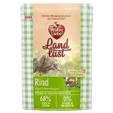 Wahre Liebe Landlust Rind | 12x85g Katzennassfutter