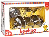 Beeboo Kitchen Edelstahltopf-Set, 7-teilig