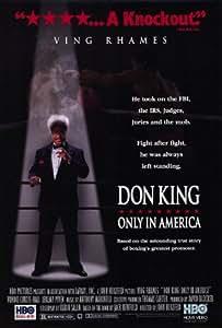 Don King: Only in America Affiche du film Poster Movie Roi de Don: Seulement en Amérique (27 x 40 In - 69cm x 102cm) Style A