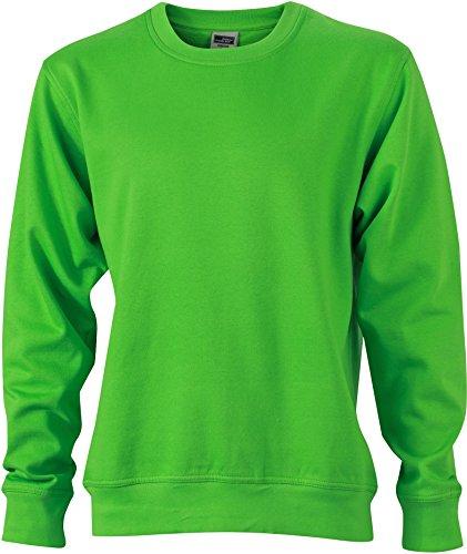 FaS50840 Workwear Sweatshirt Rundhals Pullover auch in Übergröße 60° C waschbar Lime Green