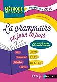 La Grammaire au jour le jour - Contenus année 3 - CE2/CM1/CM2