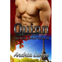 Quinn: (The Beck Brothers Series) by Andria Large (2013-07-01)