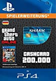 Grand Theft Auto Online | GTA V Tiger Shark Cash Card | 200,000 GTA-Dollars | PS4 Download Code - deutsches Konto