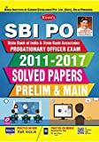 Kiran's SBI PO Probationary Officer Exam 2011 to 2017 Solved Papers Prelim & Main - 2202