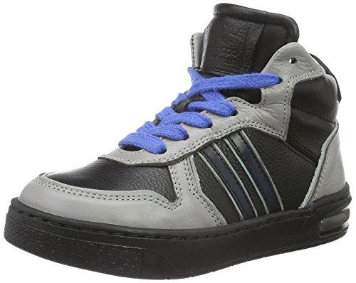 HIP H1257 Sneakers da Ragazzi, Colore Nero (10CO/Bc), Taglia 28 EU