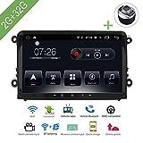 L-Way Android 7.1 Reproductor Multimedia para Coche 1 DIN DVD para VW/Volkswagen / Golf/Polo / Tiguan/Passat / Jetta/CC / Seat/Leon / Skoda/EOS 9' 2G / 32G Radio GPS