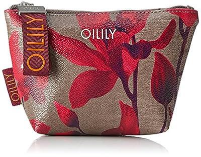 Oilily Jolly Cosmeticpouch Shz, Women's Clutch, Rot (Dark Red), 6.5x11x14 cm (B x H T)