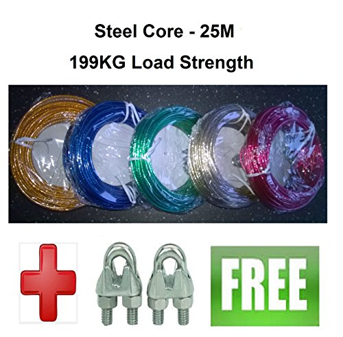 strong-25m-steel-core-washing-clothes-line-free-clamps-199-kg-tear-strength
