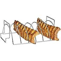 Küchenprofi–Griglia barbecue per Spare Ribs E per arrosti Rack