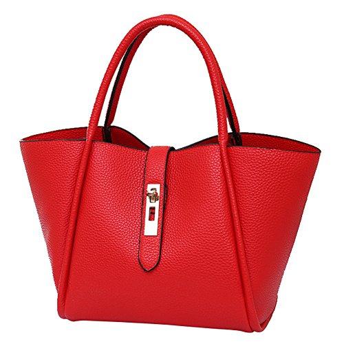 Shuhua Retro Fashion Lady Bag Donna Tracolla Pu In Pelle Borsa Color-6