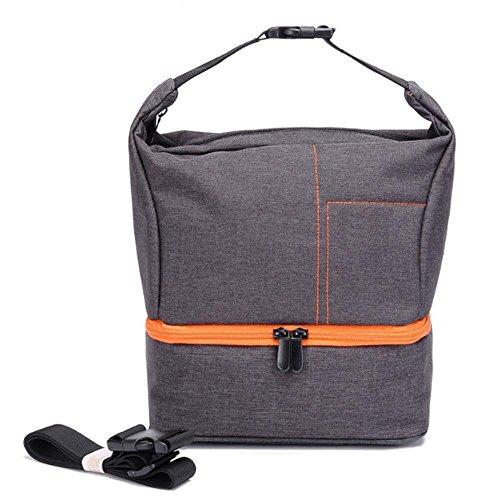 Pawaca Kamera-Rucksack, wasserdicht, stoßfest, für Canon, Nikon, Sony, Orange