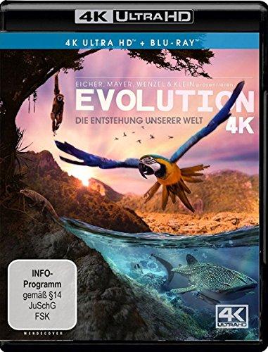 Evolution 4K - Die Entstehung unserer Welt - Ultra HD Blu-ray [4k + Blu-ray Disc]