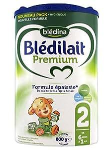 Blédilait Premium 2 de 6 Mois à 1 An 800 g