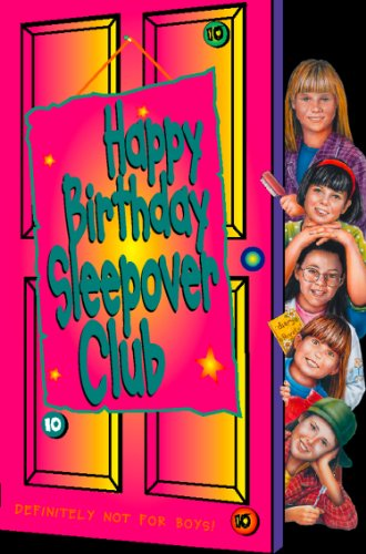 Happy birthday, Sleepover Club