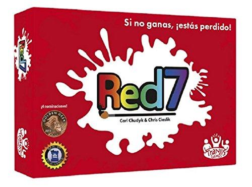 Tranjis Games - Red7 - juego de cartas (TRG-04red)