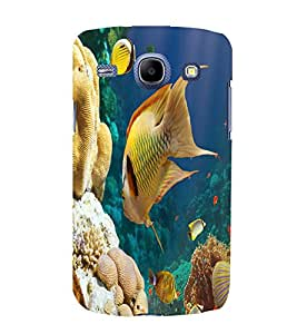 printtech Fish Coral Seawater Back Case Cover for Samsung Galaxy J7 / Samsung Galaxy J7 J700F (2015 EDITION)
