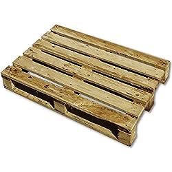 Pale Semifuerte Semiusado de madera | Color Madera Natural | Reciclados o Reutilizados | Madera | 120 x 80 cm | Para hacer un trabajo; mueble, decoración, etc.