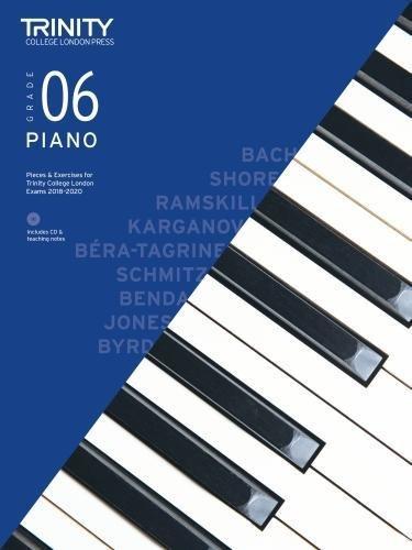 Trinity College London Piano Exam Pieces & Exercises 2018-2020 Grade 6 (with Free Audio CD) (Piano 2018-2020)