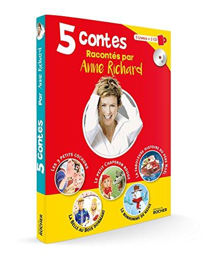 Coffret de 5 contes avec CD: Les trois petits cochons ; La Belle au Bois dormant ; Le petit Chaperon rouge ; Le bonhomme de neige