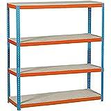 Simonrack simonforte 1504-4 - Kit plywood azul naranja madera