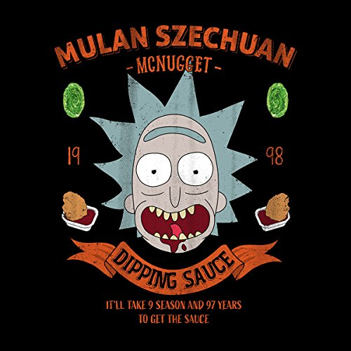 Mulan Szechuan Dipping Sauce Rick And Morty Women's Hooded Sweatshirt Black